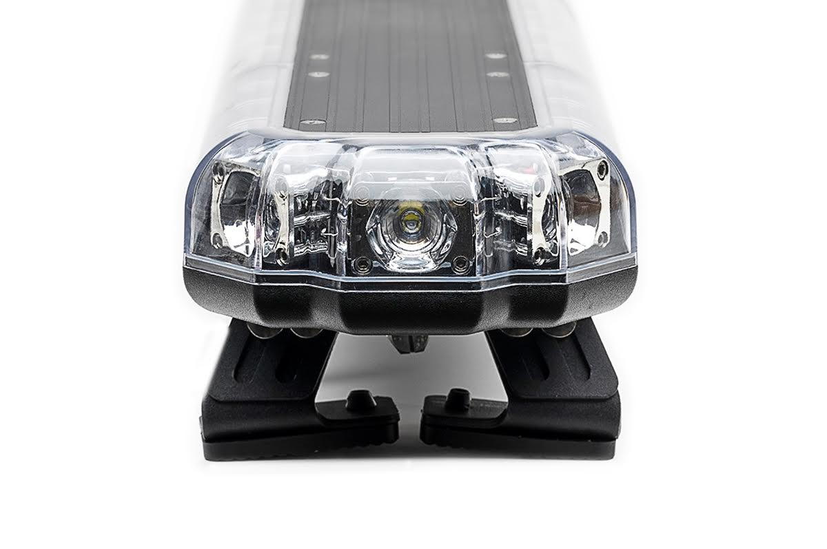 K-Force Micro 60 TIR Slim Full Size Tow LED Light Bar Side View