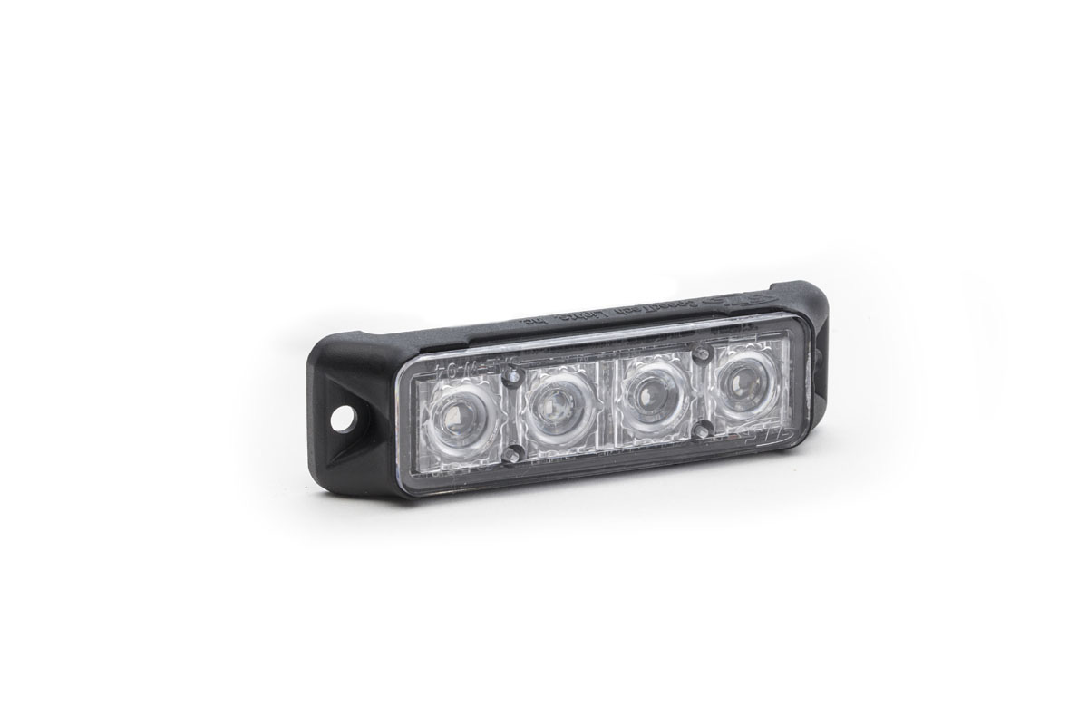 Z-4 TIR LED Surface Mount Grille Light Angle View