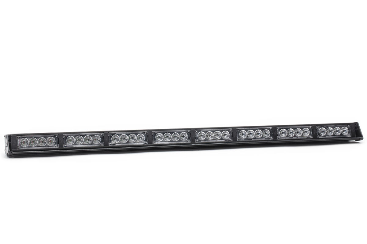 39362striker 8 tir led traffic advisor light bar angle. Black Bedroom Furniture Sets. Home Design Ideas