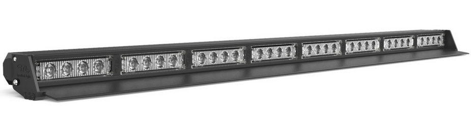 Striker-8 TIR 8-Head Interior LED Traffic Advisor Angle