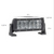 Dual Carbine Floodlight 8 Inch Off Road LED Light Bar Dimensions