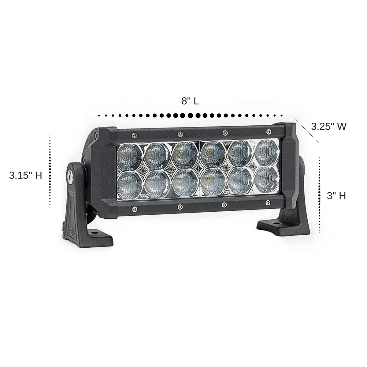 4 pack dual carbine 8 off road led light bar stl 4 pack dual carbine floodlight 8 inch off road led light bar dimensions aloadofball Gallery