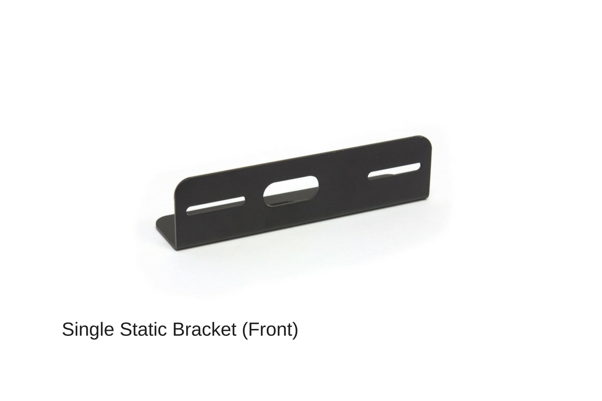 Z-3 Linear LED Surface Mount Grille Light Single Static Bracket