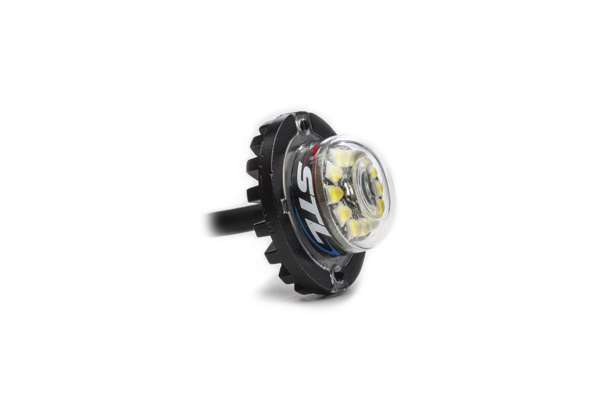 Flare 12 LED Hideaway Surface Mount Light LED Module Angle
