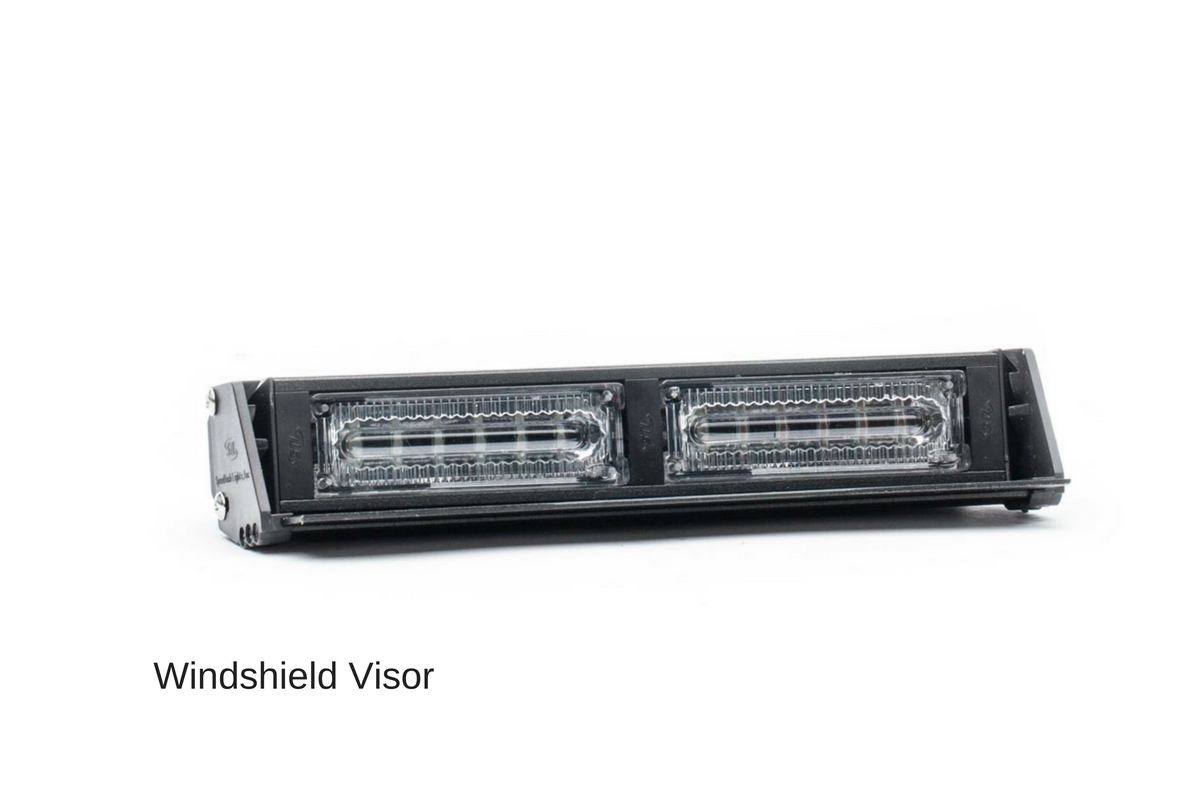 Virtue-2 Linear 2 Head LED Dash Light Angle View