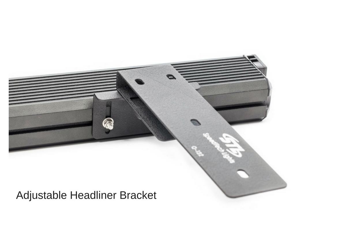 Striker-1 TIR 1-Head LED Dash Light Adjustable Headliner Bracket