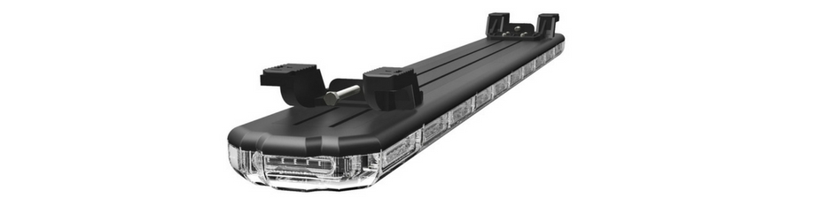 K-Force Micro 50 Linear Full Size Slim LED Light Bar Upside Down Angle View