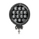 Circle Carbine Floodlight Round 6 Inch Off Road LED Light Angle