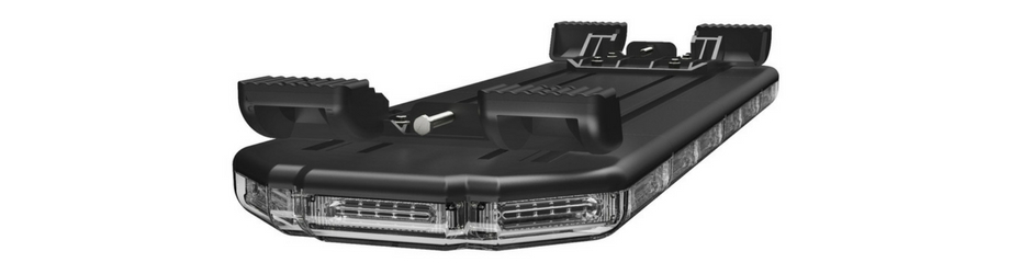 K-Force 36 Linear Full Size LED Light Bar Upside Down Angle View