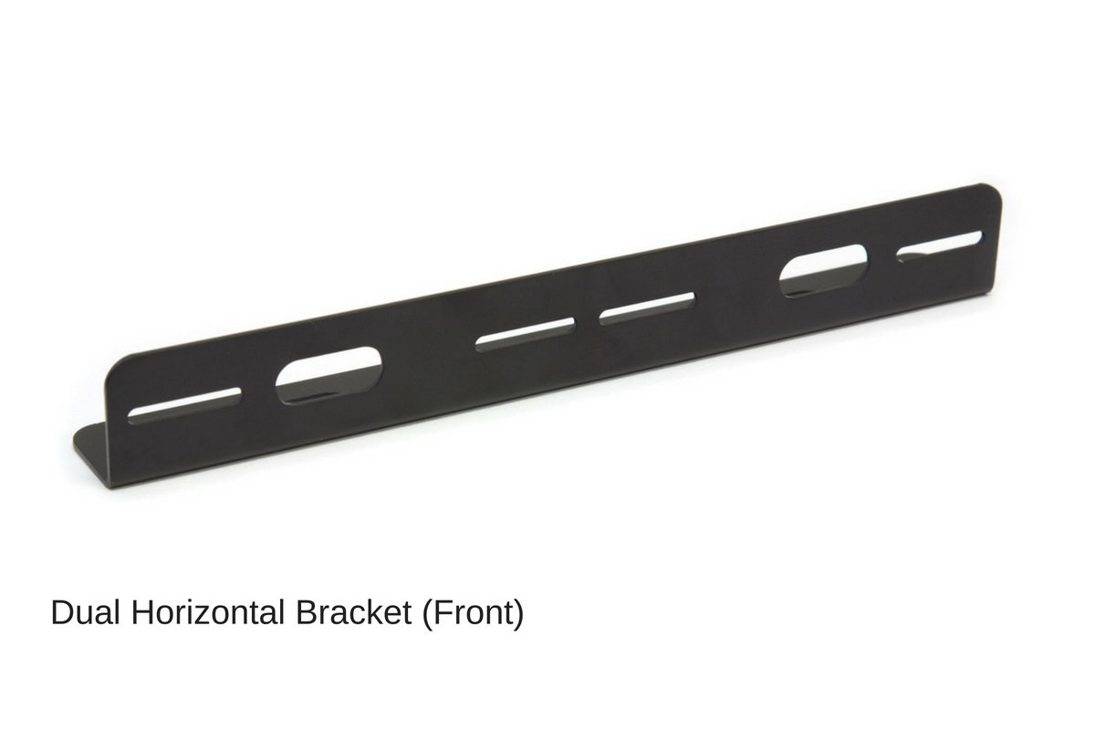 ... Z-3 TIR LED Surface Mount Grille Lights 2 Pack Dual Horizontal Bracket  ...