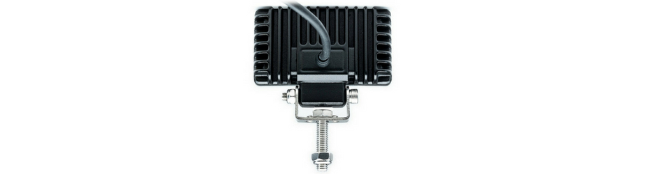 Carbine-X Mini 3.5 Inch Rectangular LED Floodlight Back View