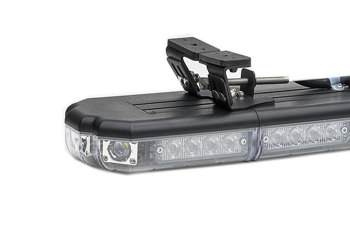 K-Force Micro 60 TIR Slim Full Size LED Light Bar Upside Down Angle View