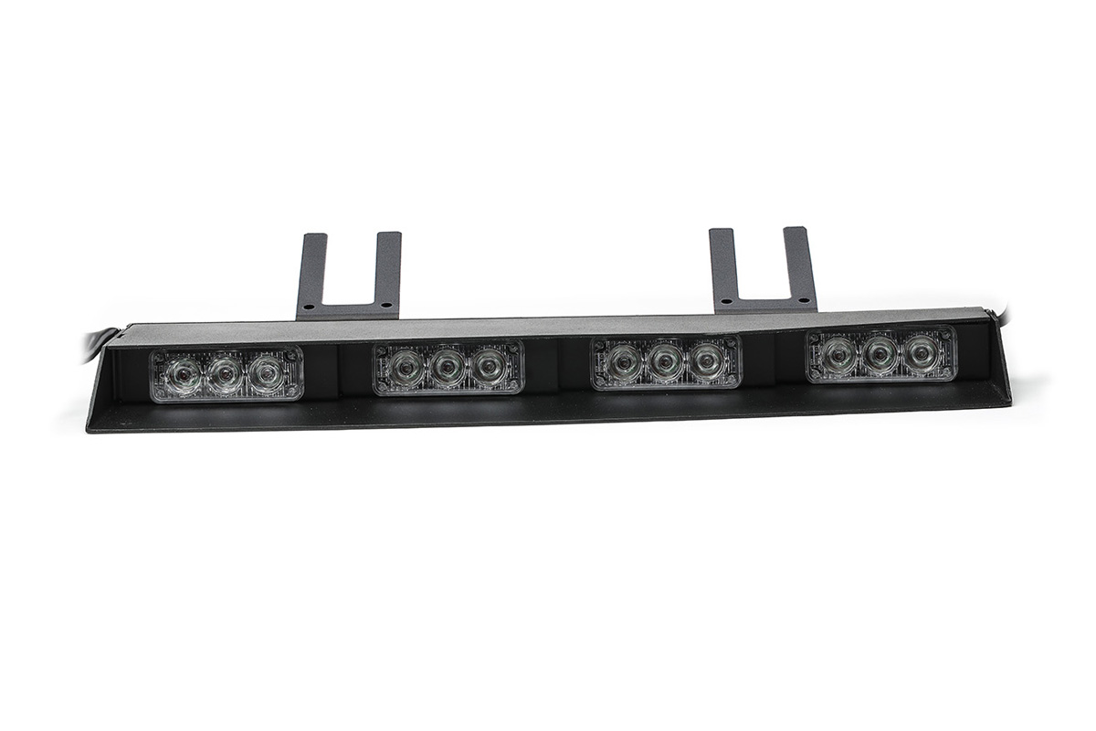 Split Raptor-X TIR Interior LED Visor Light Bar Left Unit