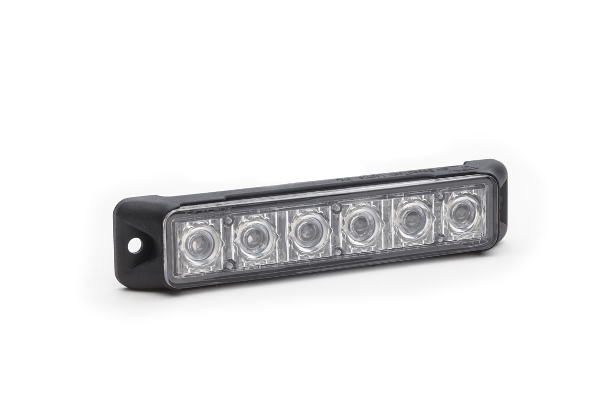 Z-6 TIR LED Surface Mount Grille Light angle view