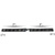 Split Raptor Linear Visor Light Bar Dimensions