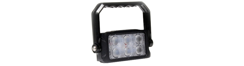 Carbine Rechargeable Cordless HandHeld LED Floodlight Angle