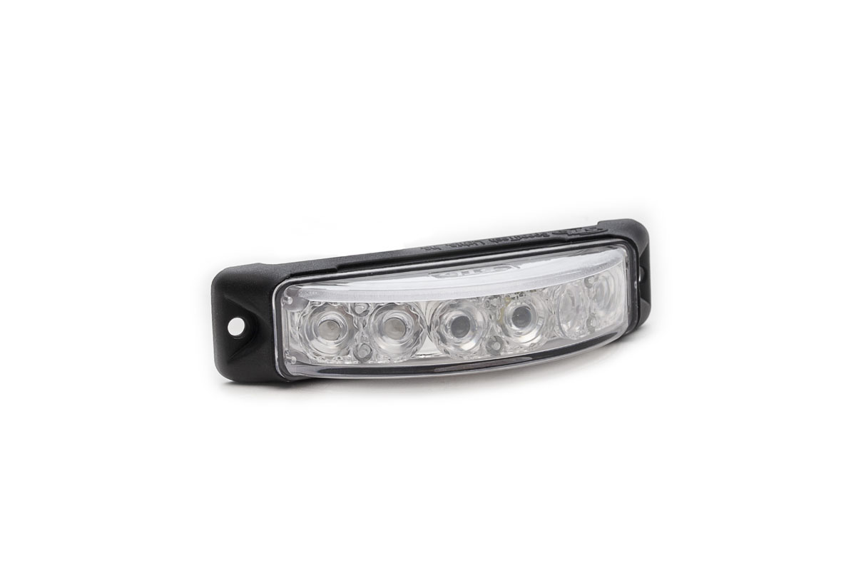 Z-180 TIR LED Surface Mount Grille Light Angle View