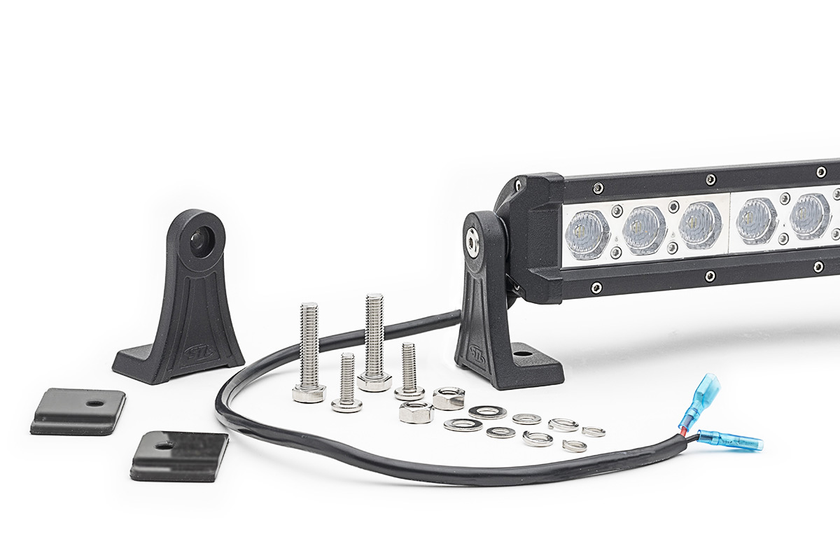 Carbine 5 Inch Floodlight Off Road LED Light Bar Mounting Hardware