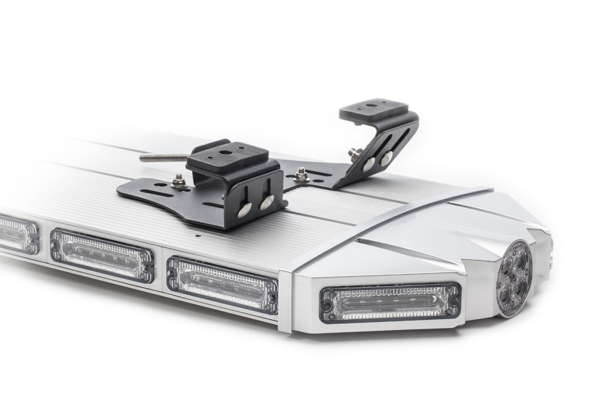 K-Force 71 Linear Full Size LED Light Bar Upside Down Angle View