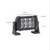 Dual Carbine Floodlight 5 Inch Off Road LED Light Bar Dimensions
