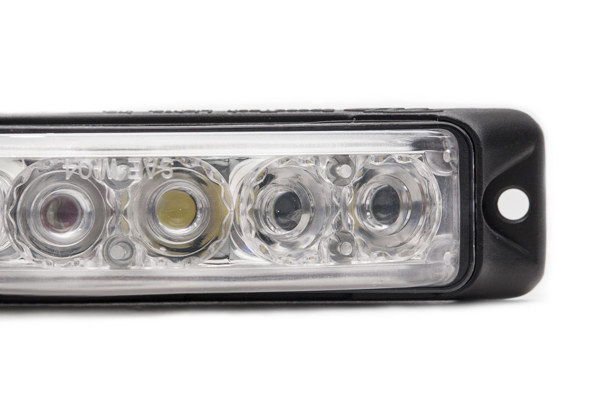Z-180 TIR LED Surface Mount Grille Light Close Up
