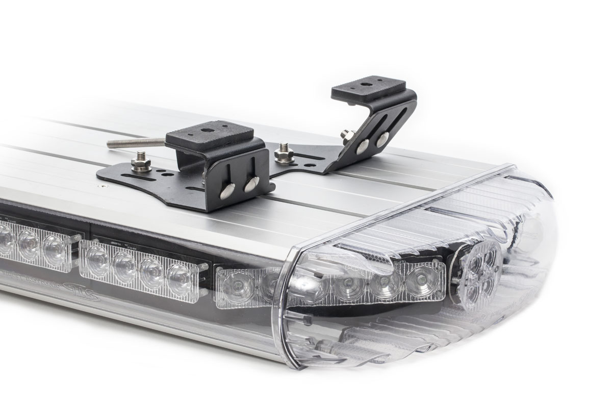 Aries 50 TIR Full Size LED Light Bar Upside Down Angle View