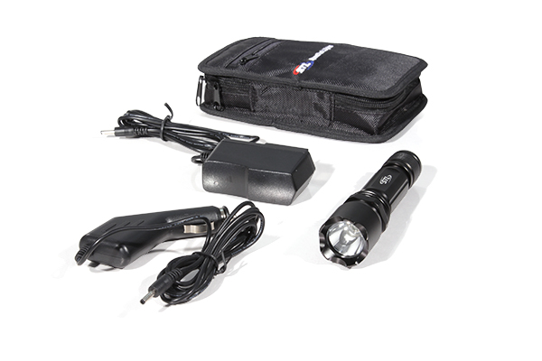 Trigger-Beam CREE LED Flashlight Package